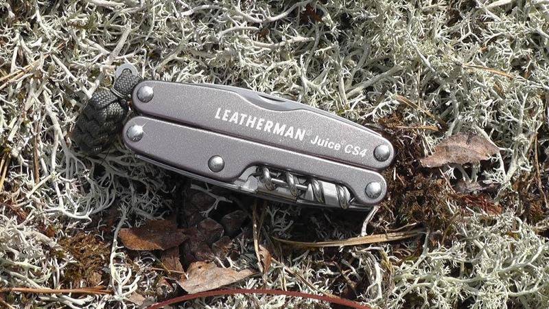 Мультитул Leatherman Juice CS4 - Обзор и примеры работы