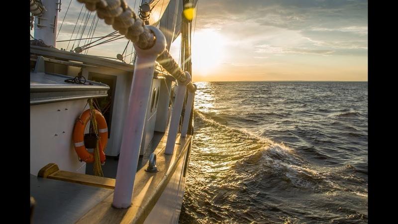 Парусная шхуна КрасотКа. Sailing schooner KrasotKa