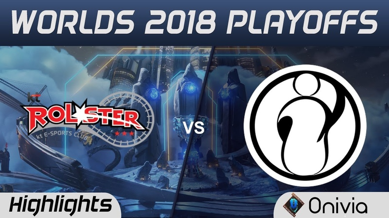 KT vs IG Game 3 Highlights Worlds 2018 Playoffs KT Rolster vs Invictus Gaming by Onivia