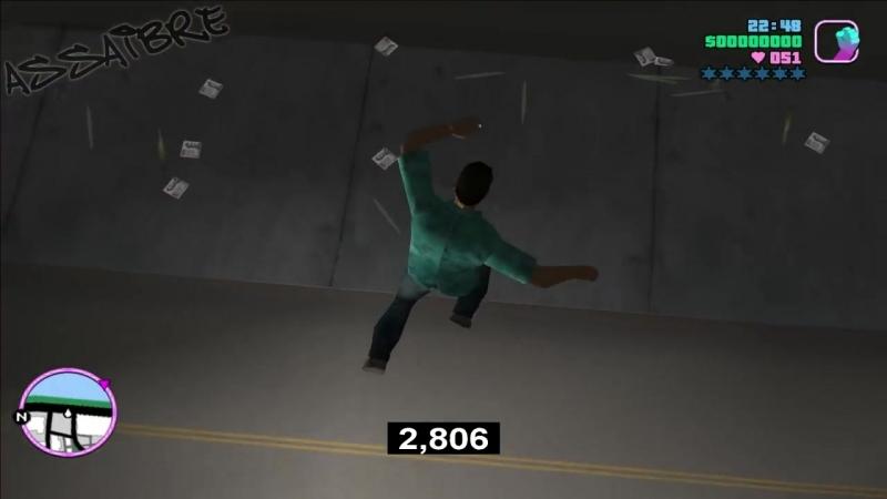[ASSAIBRE] Какой персонаж в GTA упадет быстрее со 100 метровой высоты