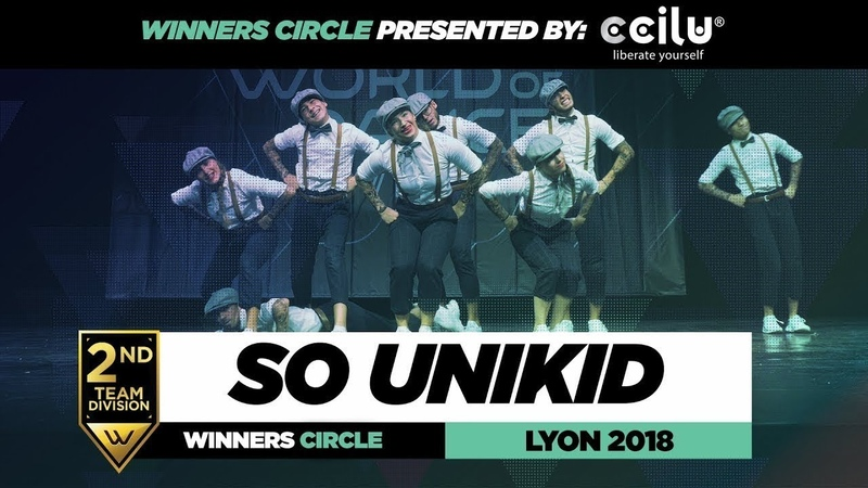 So Unikid I 2nd Place Team Division I Winners Circle I World of Dance Lyon 2018 I WODFR18