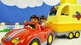 Строим из Lego Duplo, LEGO DUPLO 10807 Horse Trailer – Лего Дупло 10807 Трейлер для лошадок