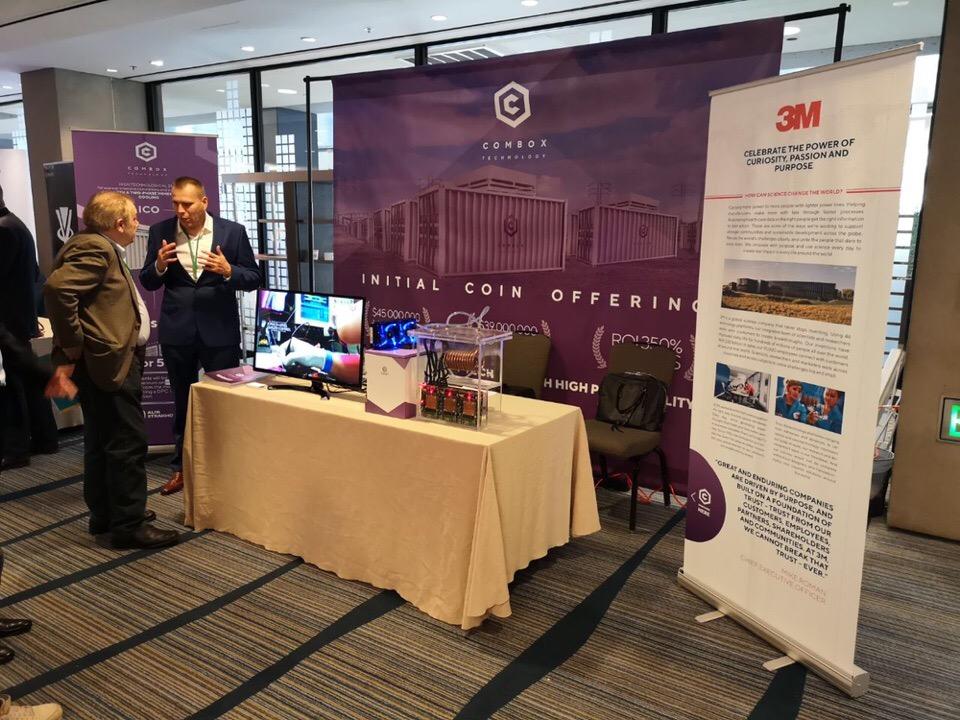 Организуем мероприятие для ComBox Technology в Сан-Франциско, Global Blockchain Forum 2018