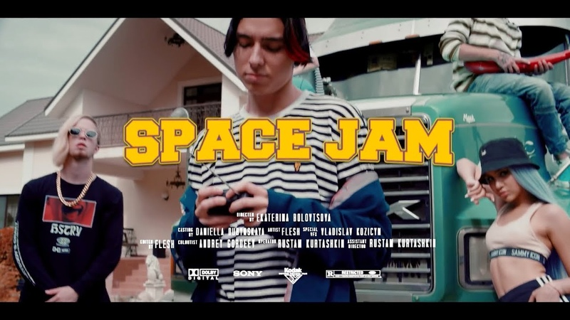 Flesh - Space Jam (Official Back Stage) (prod by Anana Tv)