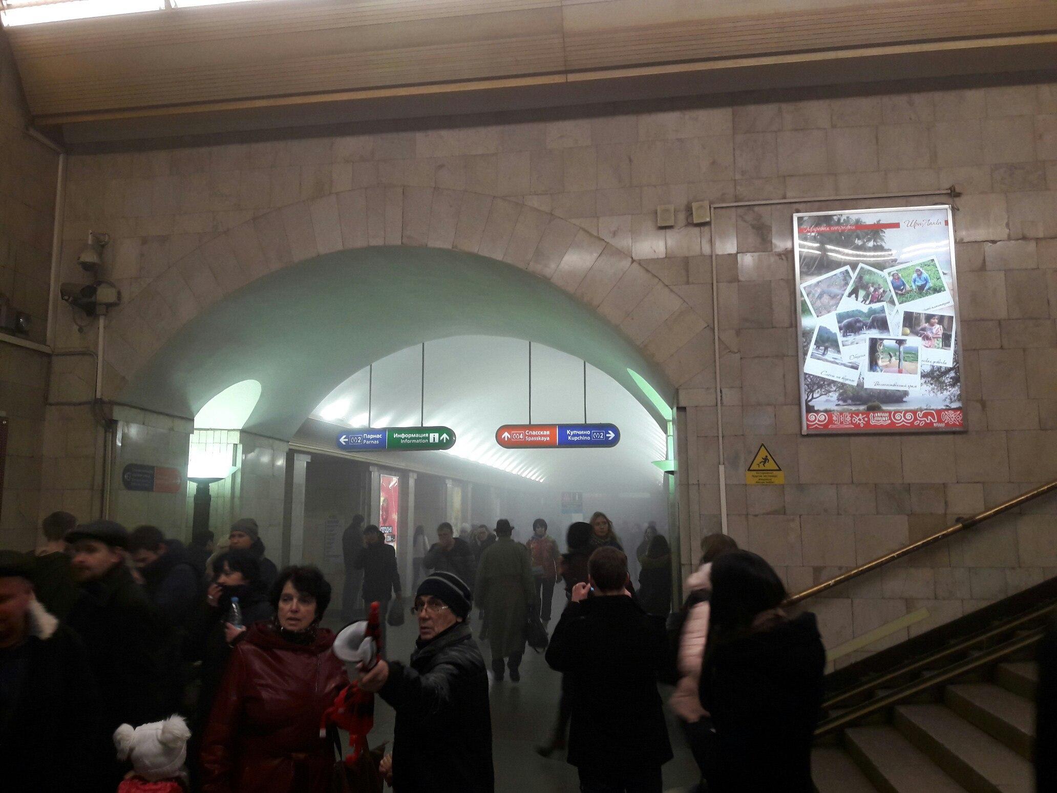 Смотреть Названный подозреваемым в исполнении взрыва в метро сам явился в полицию видео