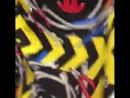 """Шелк под названием креативнее не придумаешь от Moschino"""" оригинальный сток подписной Moschino Couture Milano Состав шелк 1"""