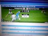 Сандерленд-Манчестер Сити 1-0.Статистика матча.
