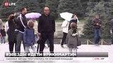 Дети Рики Мартин развлекаются в Москве