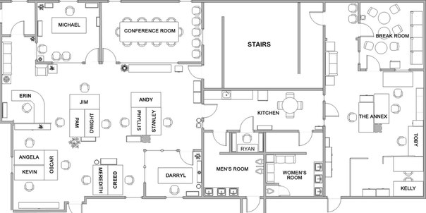 План-схема офиса | Любители