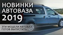Новинки АвтоВАЗа 2019. Когда выйдет LADA VAN