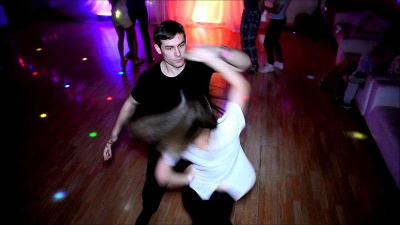 Vara and Vlad. Zouk pirouette.
