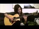 Russian girl is very pretty cool playing the guitar, best video 2013