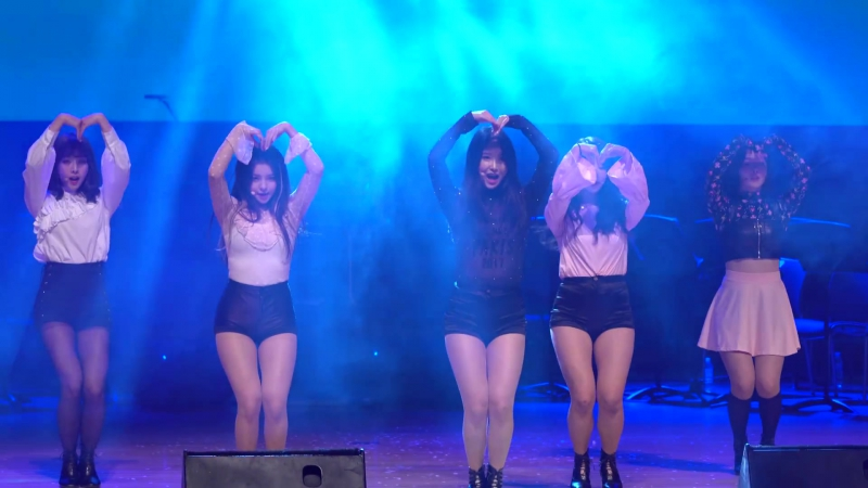 171214 Brave Girls Deepened @ Wonju Military Music Concert