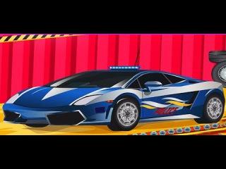 Police Car Wash-Мойка полицейской машины