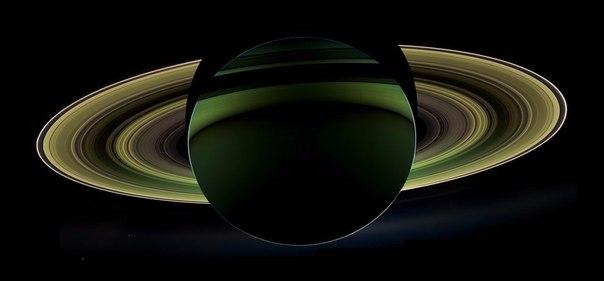 Ночь на Сатурне