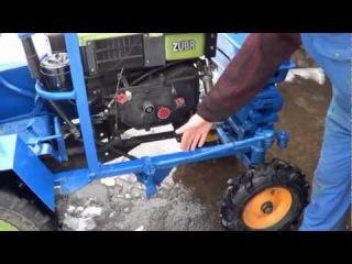 Трактор своими руками из мотоблока зубр