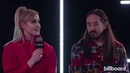 Steve Aoki Kiiara talks about new single Be Somebody and their collaboration Live on Billboard