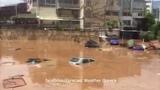 Flood in Marousi, Athens, Greece, july 26, 2018   Наводнение в Амарусионе, Афины, Греция, 26.07.2018