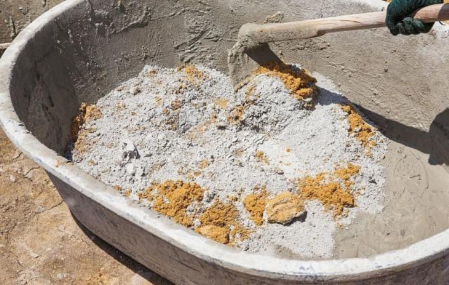 Пропорции цементного раствора: соотношение и расход