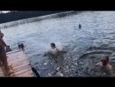 Заднее сальто в воду на Люхово. Новополоцк.