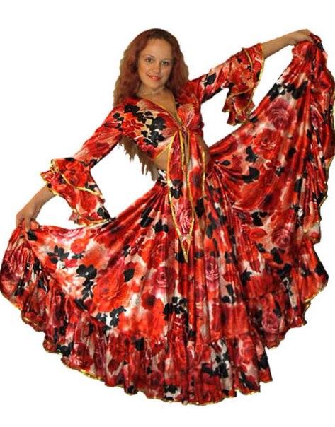 Новогодние костюм цыганки своими руками