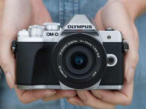 Olympus OM-D E-M10 Mark III | проверка в работе