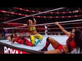 WWE Woman Royal Rumble 2018 / Dead by April - Stronged / ALEXVIT
