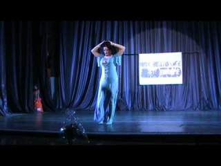 "Tamila Kolodiy-baladi improvisation (performance at the ""Miss  bellydance -Ukraine"" 2014"