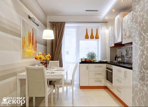 Очень стильная кухня (1 фото) - картинка