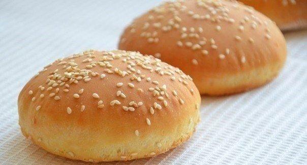 Рецепт булочек как гамбургер