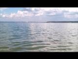 волны Обского моря_июль 2017