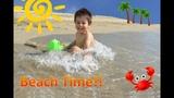 Kid having FUN on the BEACH Puerto Vallarta SunScape