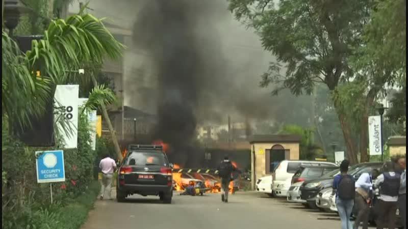 Взрывы и стрельба в Кении совершено нападение на отельный и офисный комплексы