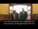 Prince William speaks Swahili while visiting Tanzania!