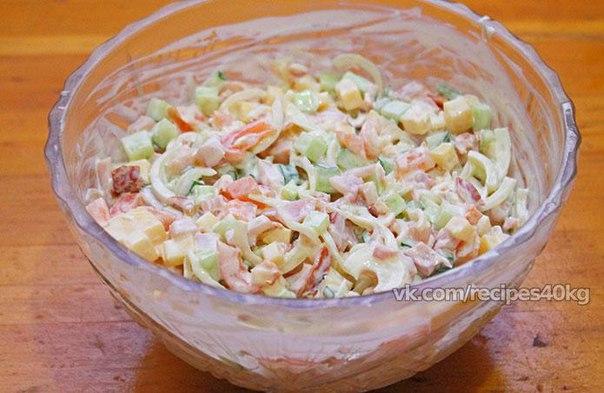 Русские салаты рецепты с фото