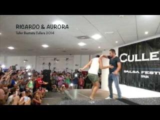 BACHATA SENSUAL WORKSHOP en Cullera Salsa Festival 2014 with RICARDO & AURORA
