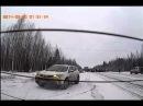 ДТП на 708км на трассе Нефтеюганск Пыть-ях 20.03.2014г задняя камера
