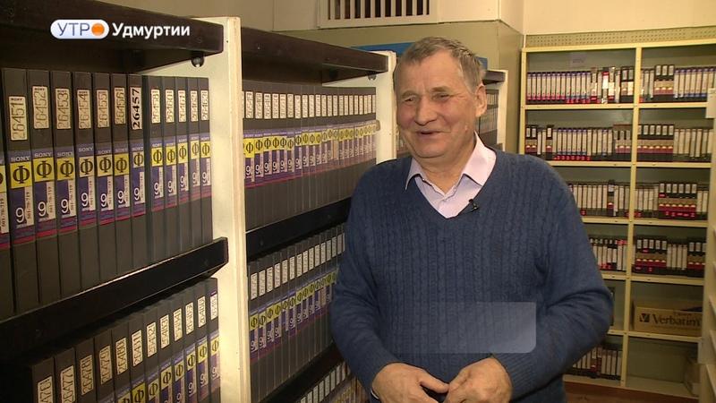 70 лет исполнилось заслуженному деятелю искусств Удмуртии Василию Михайлову