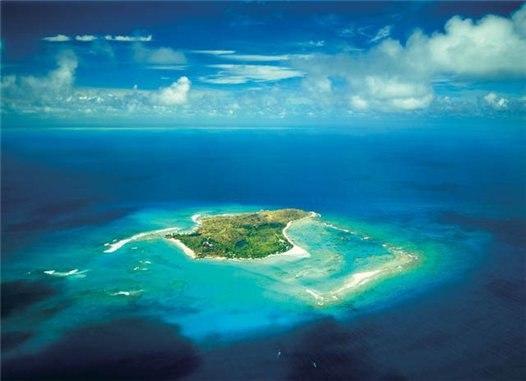 Некер - остров Ричарда Брэнсона (17 фото) .
