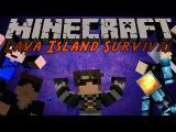 Minecraft : Lava Island Survival 2 /w Friends!