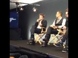 Промоушен фильма «Ровер»: Интервью для «Apple Store» [07.08.2014]