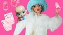 МАМА АНДЖЕЛА. Чей это ребенок Играем в куклы Барби