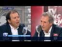 Daniel Cohen face à Jean Jacques Bourdin en direct 04 09 2018