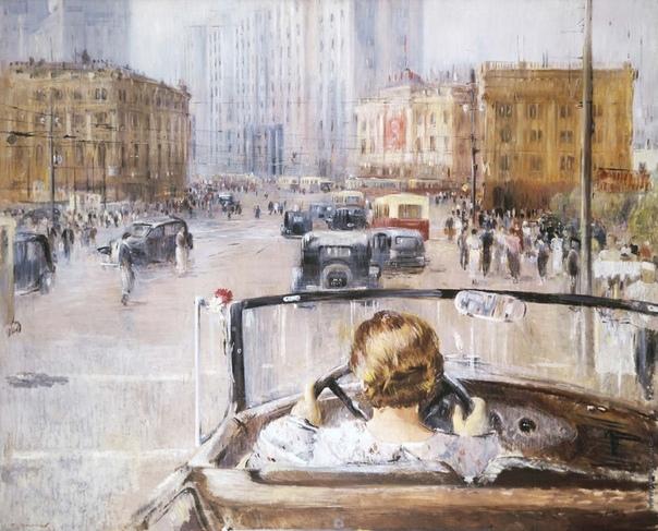 « одного шедевра». «Новая Москва», Юрий Пименов