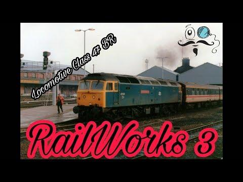 RailWorks 3 | Class 47 BR | Дальняя переброска