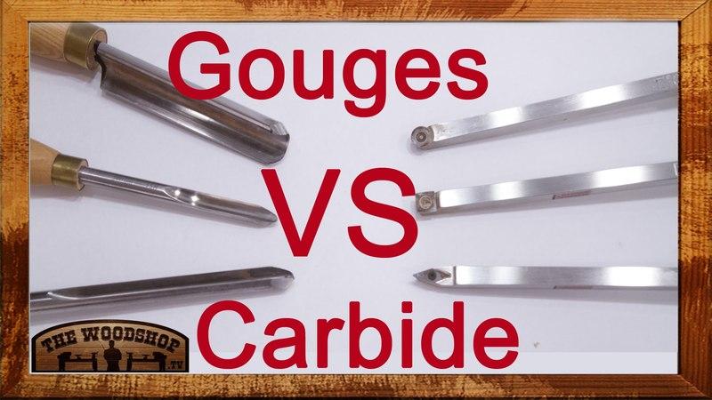 Carbide Tools vs Gouges - Power Sanding - Back-to-Basic Woodturning