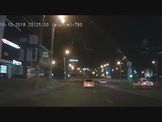 Погоня полицейских по ночному Нижнему за пьяным водителем - Регион-52