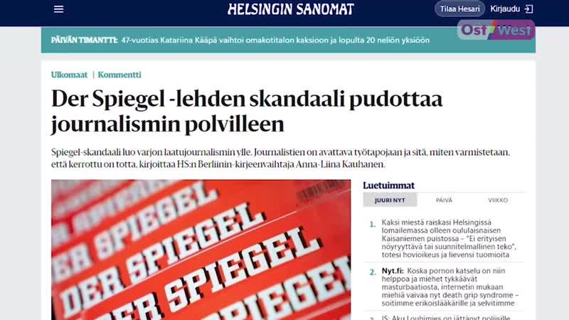 Журналист Клаас Релоциус много лет подряд врал в своих статьях