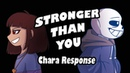 Stronger Than You - Chara Response Undertale Animation Parody