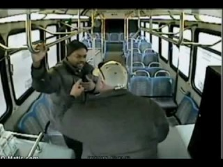 Bus Driver Assaults Innocent Passenger - Nebraska